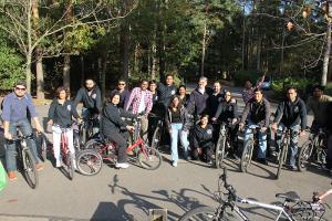 Barclays Bike a thon Oct 2011