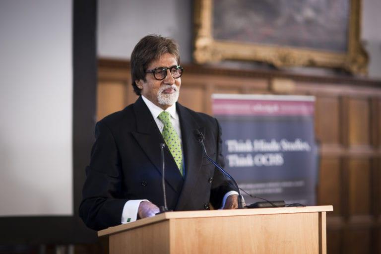Amitabh Bachchan visited Oxford